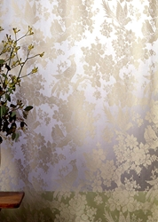 Aviary Madras Lace Curtain & Yardage